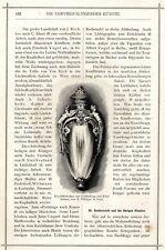 Botella de rapé con oro y gemas E.Philippe París xilografía VIGN. von1873