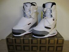 *RARE* Brand New Ronix One Air Jordan Bindings Size 9 Wakeboard Boots White