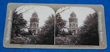 Arndt Tower On The Rugard Ruegen Germany Stereoview Card
