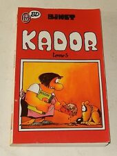 KADOR Tome 3 par BINET - J'AI LU BD 1990 (A l'origine FLUIDE GLACIAL)