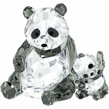 Swarovski Panda Mother with Baby # 5063690 New in Original Box