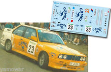 Decal 1:43 Antonio Ponce - BMW M3 - Rally El Corte Ingles 1989