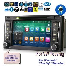 Android 8.0 Car Radio for VW Touareg 2004-2010 T5 DVD DAB GPS Dtv OBD 7856g TPMS
