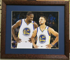 Nice Framed Stephen Curry & Kevin Durant Color Photo ( Warriors - NBA )
