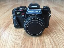 Vintage PENTAX CAMERA PROGRAM PLUS With SMC PENTAX-A 1:1.7 50mm LENS