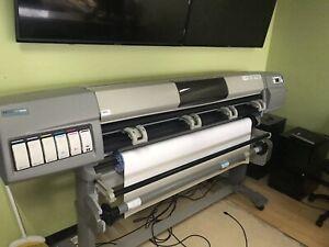 """HP Designjet 5000 60"""" Printer ."""