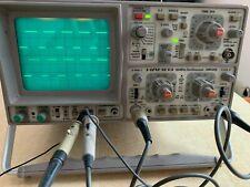 Hameg HM 605 Oszilloskop mit 4 Tastköpfen, 60 MHz