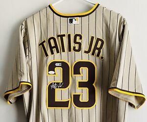 Fernando Tatis Jr. Signed San Diego Padres Nike Authentic MLB Jersey JSA & USASM