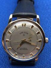 Vintage Lord Elgin 30 Jewels Self Winding Men's Wrist Watch