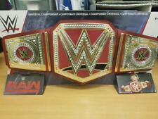 WWE Universal Championship belt new/boxed Mattel 2018 world title