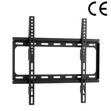 "STAFFA TV SUPPORTO A MURO PER LCD PLASMA 42""44""46""48""50""52""54""56""58""60"" POLLICI"