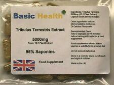 Tribulus x 120 Capsules 5000mg per Capsule Testosterone Booster Muscle Gain