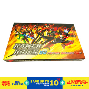 Anime DVD Kamen Rider 92 Movies Collection 1972 to 2020 Complete Box Set DHL