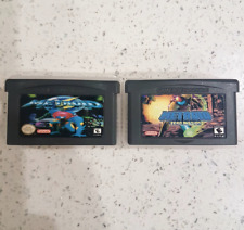 2x Metroid Fusion & Zero Mission Gameboy GBA/SP/DS Games