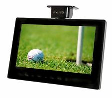 "Visua 10.2"" Black Flip Down 12v/240v Volt LCD Freeview TV for Caravans & Boats"