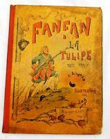ENFANTINA. Fanfan la Tulipe. Illustrations de JOB. Hachette sd (1896). RARE