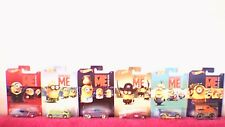 "Hot Wheels - ""Despicable Me"" Series - Set of 6 Models"