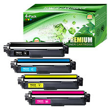 Compatible Brother MFC-9340CDW Toner Cartridge 4 Pack Black Cyan Magenta Yellow