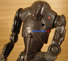 STAR WARS SUPER BATTLE DROID ARGENTO COMANDANTE figura!