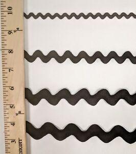 "Rick Rack trim for crafts DIY Assorted sizes Ric Rac 3/8"" 7/8"" 1"" 1 1/8"" 15yards"
