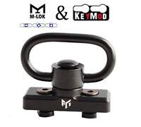 "M-Lok / KeyMod Sling Attachment Point Heavy Duty 1.25"" Quick Detach Swivel  S057"