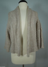 THE LIMITED Knit Beige Sweater Shrug size M