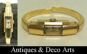 Vintage Swiss Gold-plated REX 17 Rubis Mechanical Ladies Wrist Watch