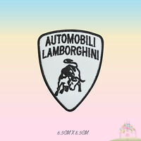 Lamborghini Car Brand Logo Embroidered Iron On Patch Sew On Badge Applique