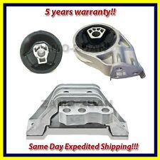 2005-2010 Chevy Cobalt/ HHR/ Pontiac G5 Motor & Trans. Mount Set 3PCS for Manual