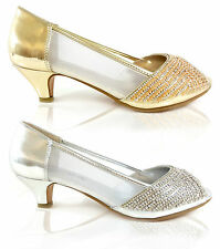 Mid Heel (1.5-3 in.) Unbranded Evening Shoes for Women