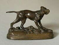 Bronze animalier signé Jules Moigniez école française du 19e diecle