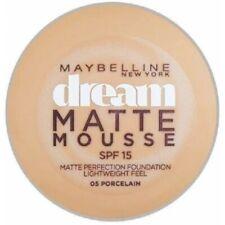 05 Porcelain - Fond de Teint Dream Matte Mousse FPS18 de Gemey Maybelline