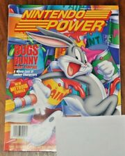 Nintendo Power Magazine Volume 57 Feb. 1994 Bugs Bunny + Super Metroid Poster
