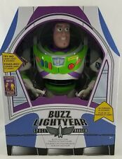 New Disney Store Toy Story Buzz Lightyear Interactive Talking Action Figure 12""