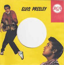 FIRMENLOCHCOVER * ELVIS PRESLEY RCA * Repro COVER * NEU * TOP Singleaufwertung!