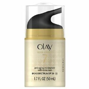 Olay Total Effects 7-in-1 Anti-Aging UV Moisturizer SPF 30, 1.7 oz.