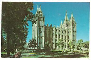 Salt Lake City, Utah Temple, Mike Roberts,LDS/Mormon Unused/New Vintage Postcard
