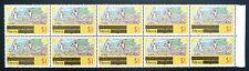 Nevis 1980 $1 su carta unwatermarked sg47a blocco (10) U / m prezzo di vendita BN 800