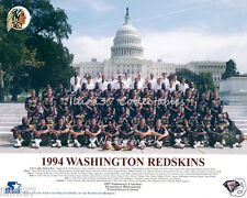 1994 WASHINGTON REDSKINS FOOTBALL NFL TEAM 8X10 PHOTO PICTURE