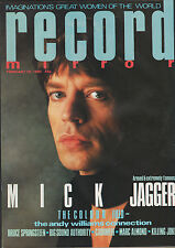 RECORD MIRROR MICK JAGGER BRUCE SPRINGSTEEN BIG SOUND AUTHORITY MARC ALMOND
