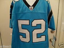 Sewn Premiere Jon Beason Youth Medium {10-12} Carolina Panthers #52 NFL Jersey.