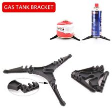 Camping Bracket Folding Tripod Outdoor Gas Tank Stove Canister Stand Holder UK