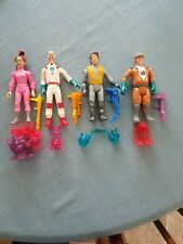 Kenner Real Ghostbusters Fright Features Complete Set of 4