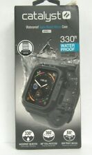 NOB Catalyst Waterproof Case for Apple Watch 44mm Series 4 - Black/Gray Band