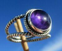 Amethyst Ring Gr. 18,25 - Silber 925 !