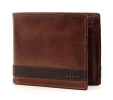 Fossil Ml3653200 Herren Geldbörse Quinn Large Coin Pocket Bifold