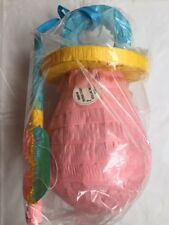 New Baby Shower Pink Dummy Shaped Pinata Game With Stick & Blindfold