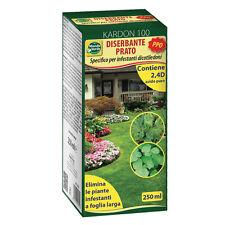 Diserbante selettivo kardon per piante erba infestante prato a foglia larga ppo