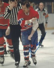 YVAN COURNOYER SIGNED MONTREAL CANADIENS 8x10 PHOTO W/PROOF # 1
