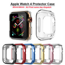Apple Watch Full Series 40/44mm TPU Soft Protector Case iWatch Shockproof Case